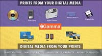 Digital Prints, Gamma Imaging
