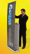 Portable Banners trade show Gamma