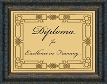 Museum Quality Picture Framing : diploma