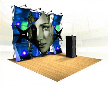 3D Fabric Displays