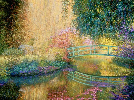 Monet's Garden, Bob Anderson