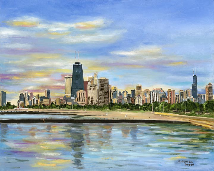 Chicago Skyline, Carrie Goldman Segall