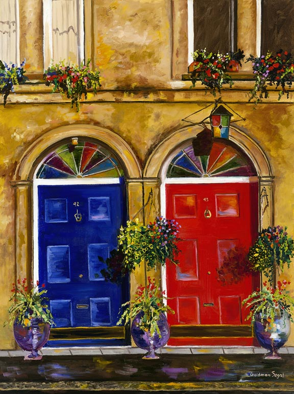 Dublin Doors, Carrie Goldman Segall
