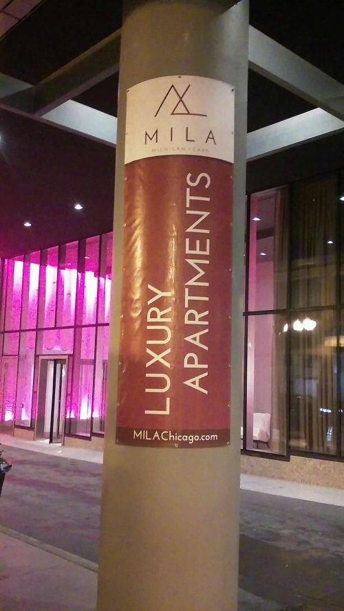 Vinyl Banners For Mila Luxury Apartments Gamma Imaging