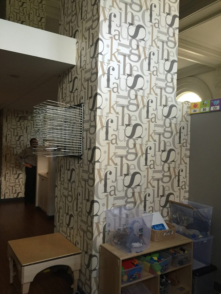 Vinyl Wallpaper Murals for for Lincoln Park School