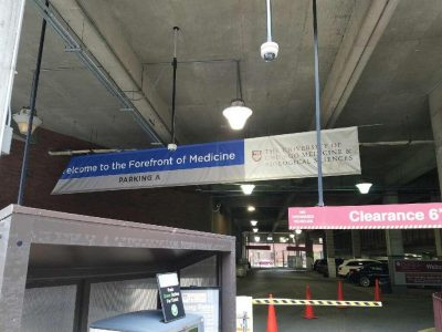 University of Chicago Hospital's Garage