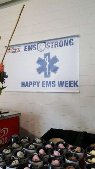 Gamma produced a 4'x6' vinyl banner for the Emergency Facility at University of Chicago Hospitals & Clinics last week.
