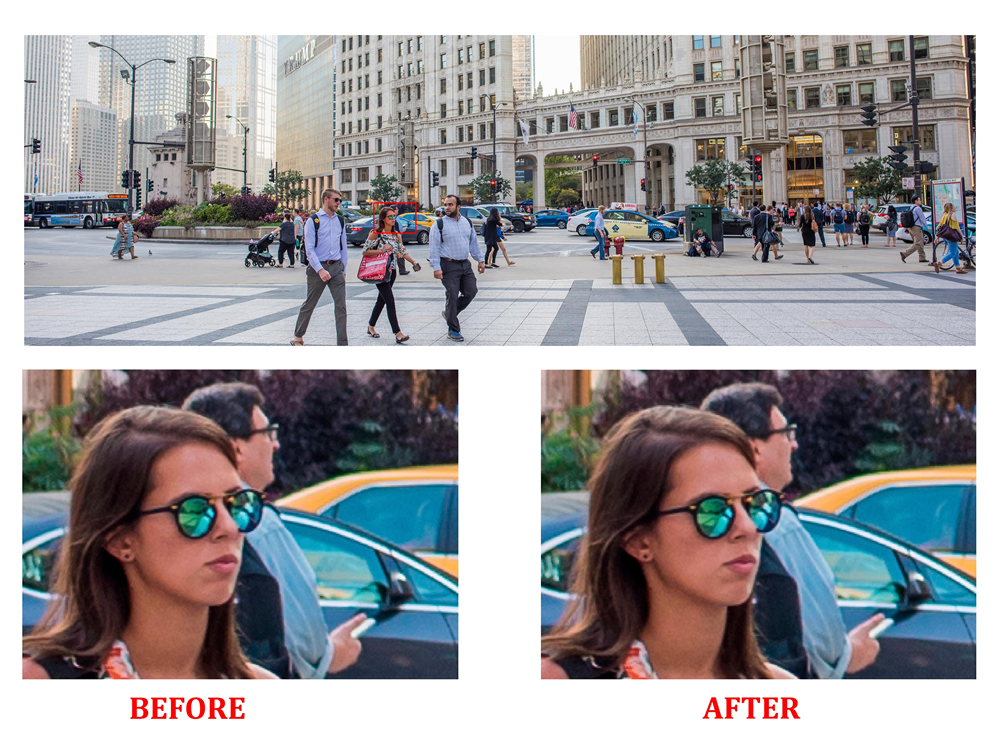 Gamma specializes in increasing the resolution of low quality images. We provide solutions for image resizing of graphical files without incurring blurring or jagged edges. We increase resolution on files used for printing poster sizes up to billboard sizes.