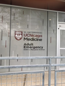 In May, Gamma produced and installed Window Perforated Film at Chicago's first south side trauma center - University of Chicago Adult Emergency Facility.